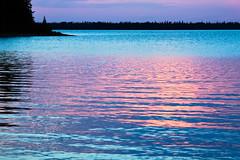 Nagagami Lake Evening Colors (matthewkaz) Tags: nagagami nagagamilake lake water sunset fishing fishcamp expeditionsnorth reflection ontario canada 2016