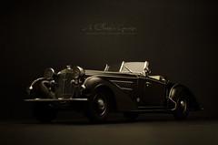 1939 Horch 855 Roadster (aJ Leong) Tags: classic car vintage war garage pre vehicle 1939 roadster 118 horch sunstar 855