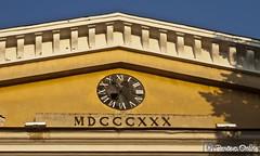 asovnik na gradskoj bolnici / The clock on the old hospital building (pancevo.online) Tags: pancevo clocks clockpancevo architecture outdoor building serbia vojvodina