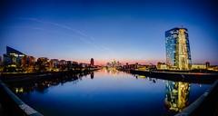 Sunset Panorama @ Luminale 2016 (ralphlenges) Tags: frankfurt luminale luminale2016