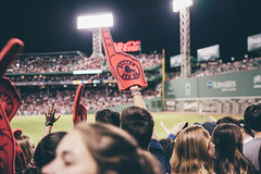 Baseball Fan (SGPhotography77) Tags: baseball fenwaypark nikon d600 sigma 2470mm lookslikefilm vsco redsox boston