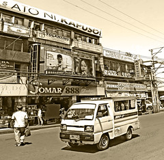 Philippines, Davao, urban scape downtown  #Phiippines (bilwander) Tags: philippines davao jeepney phiippines solo travel bilwander