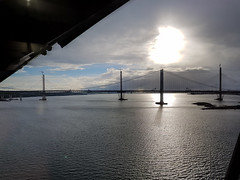 2016-07-01 19.45.10 (@webziggy) Tags: firthofforth forth bridges sunset water river bridge suspension