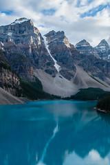 DSC_0042 (Adrian De Lisle) Tags: lakemoraine banffnationalpark banff mountains clouds