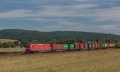2092_2016_07_10_Haunetal_Neukirchen_DB_185_351_mit_Containerzug_KT_41927_Maschen_Rbf_-_Enns (ruhrpott.sprinter) Tags: ruhrpott sprinter geutschland germany nrw ruhrgebiet gelsenkirchen lokomotive locomotives eisenbahn railroad zug train rail reisezug passenger gter cargo freight fret diesel ellok hessen haunetal neukirchen db bobymeridian cancantus dispo eloc mrcedispolok rhc railpoolrpool setg txlogistik 152 185 193 411 415 428 1266 es64f4 ice r5 hilfszug trecker heuwender kornfeld weizen cocoon alien helikopter outdoor logo natur blumen tiere rinder schmetterlinge graffiti