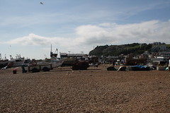 Hastings Beach (My photos live here) Tags: beach stones pebbles hastings east sussex england seaside holiday resort canon eos 1000d