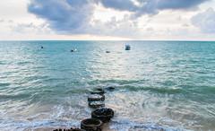 Seixas Beach. Praia do Seixas. Joo Pessoa - Paraba - Brasil (valmirmacario) Tags: water ocean sea bach praia seixas joopessoa paraba brasil brazil seascape