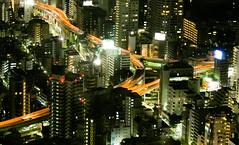Metropolitan Expressway interchange Tokyo  Roppongi (sapphire_rouge) Tags: