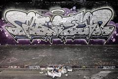 Halo (Bob the Binman) Tags: nikon d7100 graffiti london waterloo lambeth grime urban hccc leakestreet padst www londonist