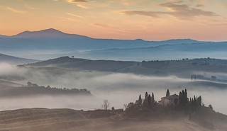 *Val d'Orcia in the early morning*