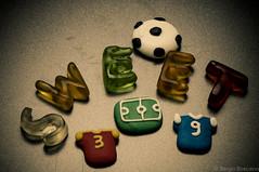 Sweet Soccer (serbosca) Tags: sweetspotsquared macromondays candy nikon d90 food macro sweet