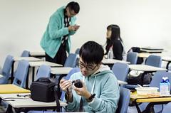 Back to Asia University-1 (Enix Xie) Tags: taiwan taichung travel trip journey life enjoy streetsnap street people wufeng 亞洲大學 亞大 asiauniversity 攝影社 photographyclub student nikon nikond7000 d7000 小小黑 70200 70200f4 nikkorafs70200mmf4gedvr apple iphone iphone6 club