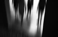 walking on a blank canvas (Lamson Noswen) Tags: blank modern hirschhorn dc washingtondc imagination abstract footseries lamson blackandwhite monochromatic museum ps impression blurworld