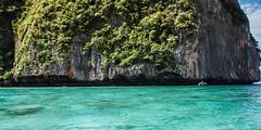 Thailand - Ko Phi Phi Leh (Cyrielle Beaubois) Tags: 2015 canoneos5dmarkii cyriellebeaubois thalande ko phi leh island south southeast asia sea ocean blue cliffs thailand lagoon adaman clear water