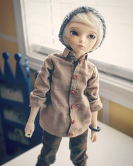Look who is still here with me. (pokori) Tags: minifee mnf blake msd bjd fairyland rheia ns active line normal boy