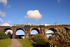 Northern England #0079 Widnes 140911 Runcorn-Widnes Bridge (Steveox55) Tags: bridge railway train merseyside widnes