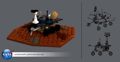 Mars Exploration Rover A/B (RC 1136) Tags: lego space mars rover