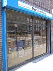 East St Library - Old Kent Road frontage (librariestaskforce) Tags: eaststreet library southwark london