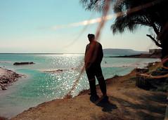 Dead Sea in Jordan Valley (Photogioco) Tags: oasis desert hot weather turquoise lake salt israel fun travel jordanvalley dead sea wonderful world