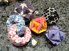 folded by HB (maplecrane) Tags: origami modular sonobe