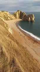 Durdle Door early evening light   phone pic   #Dorset (GOLDENORFE) Tags: dorset