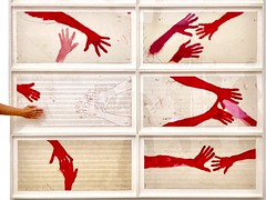 There is nothing more beautiful than a vulnerable heart in open hands.  Amanda Mosher (hellimli) Tags: hands eller louisebourgeois art tatemodern museum london exhibition england greatbritain unitedkingdom europe
