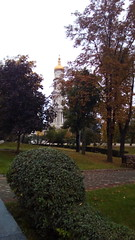 205/365 In autumn tones (zinushana) Tags: cityscape landscape autumn projectlife project project365  365       belltower church kharkov