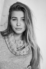 DSCF3625 (KirillSokolov) Tags: girl portrait ru russia fujifilm fujifilmru xt2 mirrorless kirillsokolov2016 kirillsokolov ivanovo    daylight     bw  fujinon5612