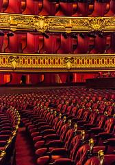 I made your song take wing (France through my eyes) (docoverachiever) Tags: france velvet seats paris gold red opera 1875 gilded balconies auditorium opragarnier palaisgarnier thephantomoftheopera