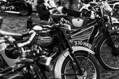 North West Vintage Rally (Ollie Smith Photography) Tags: vintage rally northwest halton cheshire widnes nikon d7200 lightroom 50mm 18d classicbikes motorbike monochrome blackwhite