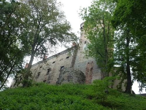 Zamek w Otmuchowie od północy