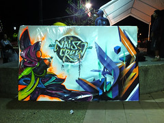 SIREK +  ADRIAN / MIXTYLE LONQUIMAY 2013 (***ADRIAN *** -Nais Crew-) Tags: chile graffiti calle mural mtn adrian hiphop pintura muros ilustracin chillan expresion hualqui viiiregion ironlak adriangraffiti