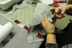Valentine Cushions - 10 Feb (ArtisOn Masham) Tags: workshops masham artison craftworkshops