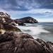 Playa Punta Negra, costa de Lima Perú