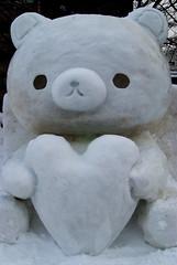 Snowy Rilakkuma (subtleMAYHEM) Tags: japan sapporo hokkaido snowfestival yukimatsuri