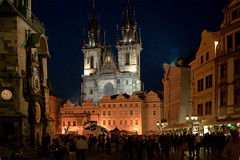Prague, Czech Republic (Thomas Depenbusch) Tags: old museum night marina square town prague pentax thomas samsung prag czechrepublik ring limited fa gx10 nmst staromstsk altstdter depenbusch 1877mm