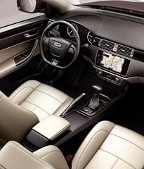 Qoros 3 Sedan - interior - driver's side (bigblogg) Tags: sedan qoros3 qorosgq3 geneva2013