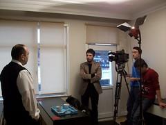 Beyaz TV - İş ve Yaşam Programı - Kamera Arkası Görüntüleri - 09.02.2013 (6)