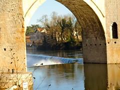 Pont de valentr cahors 3 (Anne -marie) Tags: nature de lot du pont reflets cahors vacance regard valentr plaisire mygearandme