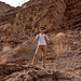 Sam in Mosaic Canyon