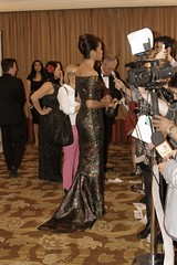 Gina Torres, actress, the press