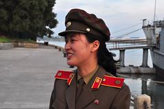 DSC_0016 (yackshack) Tags: travel woman soldier nikon asia asien north pueblo korea explore uss pyongyang corea dprk coreadelnorte nordkorea femalesoldier d5000 coredunord coreadelnord   pjngjang dvrk