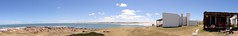 (Nacho GV (Krst-e)) Tags: ocean sunset sea sky naturaleza beach nature clouds faro uruguay atardecer evening mar twilight cabo dusk playa panoramic oxido atlantic cielo panoramica nubes tormenta rancho choza oceano atlantico oxidado hierro panoramico polonio