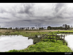 Bioria - Jardins da Ria (Paulo Veiga Photo) Tags: trees sky lake clouds composition rural canon landscape gate land biodiversity biodiversidade salreu canelas bioria lens18200mm canon550d canonlens18200mm