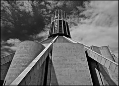 Metropolitan Cathedral of Christ the King Liverpool  (2) (Billinge Don) Tags: uk england liverpool cathedrals