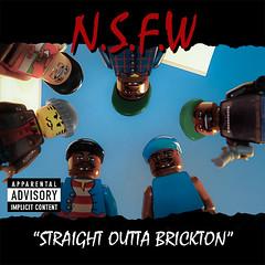 N.W.A: Straight Outta Compton (1988) (koiramies) Tags: music art toy photography lego album