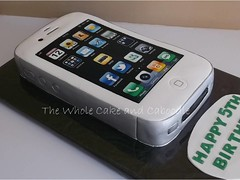 i phoned (The Whole Cake and Caboodle ( lisa )) Tags: cakes cake phone iphone fondant caboodle