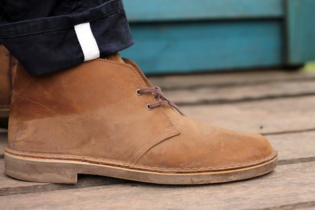 boot desert clarks