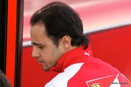 Felipe Massa after Formula One Winter Testing, 3rd March 2013