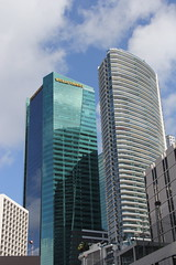 Epic Tower & Wells Fargo Center - Miami, FlMiami, Fl (twiga_swala) Tags: usa building tower architecture america skyscraper hotel office downtown florida miami district central wells center business american highrise block fl epic fargo bcd